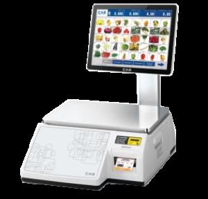 Торговые весы с печатью этикеток CL-7000S